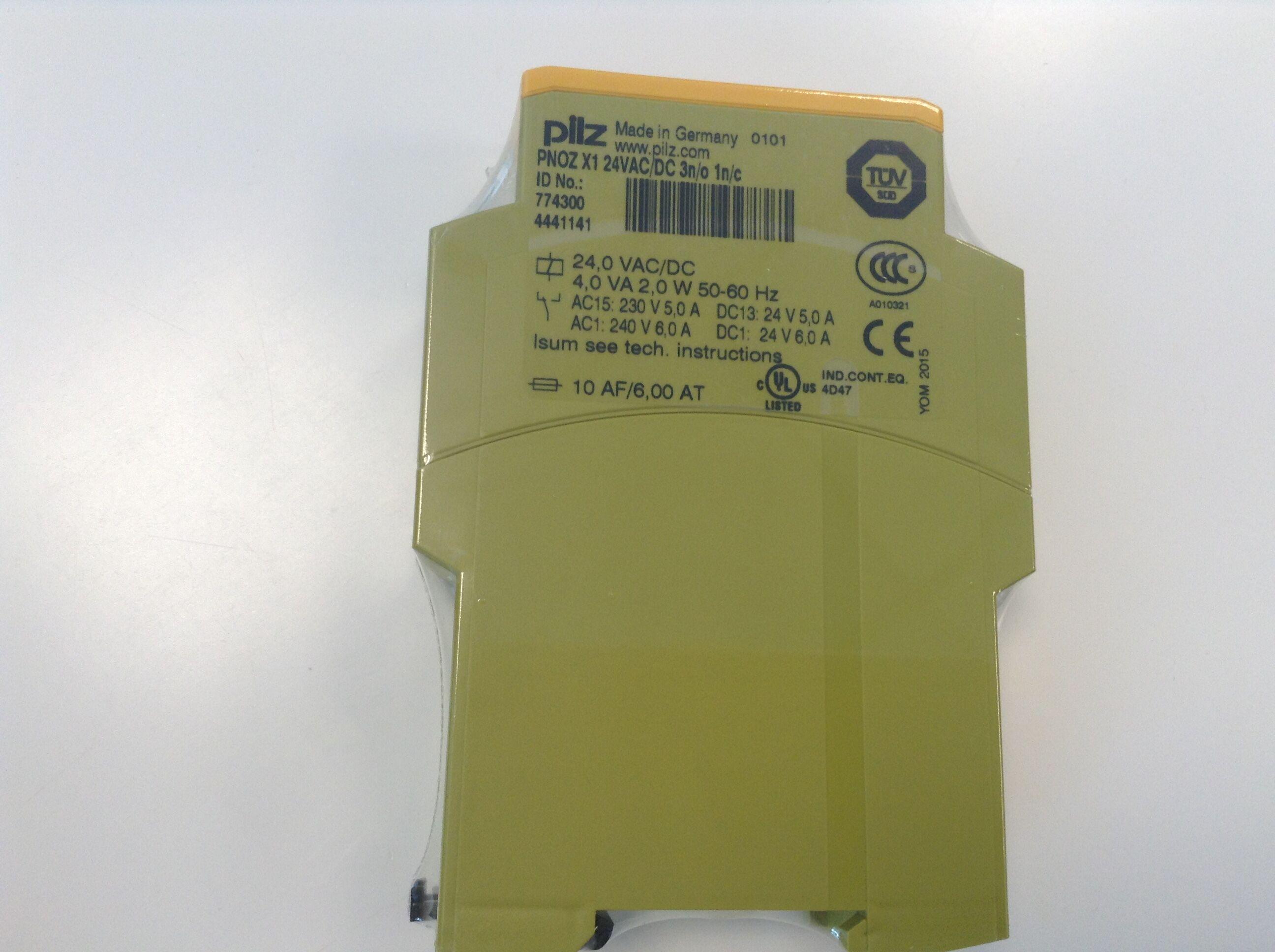 德国进口皮尔兹pilz安全继电器工作原理