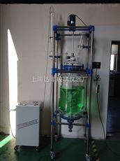 DFD-100L双层玻璃反应釜 达丰玻璃反应釜 变频调速反应釜 专业生产厂家