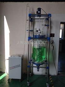 双层玻璃反应釜 达丰玻璃反应釜 变频调速反应釜 专业生产厂家