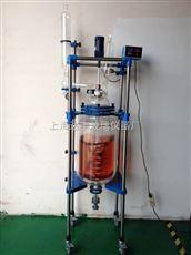 DFD30L双层玻璃反应釜 达丰玻璃反应釜 变频调速反应釜 专业生产厂家