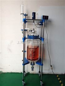 30L双层玻璃反应釜 达丰玻璃反应釜 变频调速反应釜 专业生产厂家