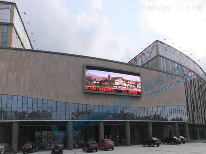 墙上p10全彩led户外广告屏全包配套设备钢结构报价