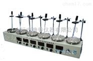 梅香优质控温六联磁力加热搅拌器