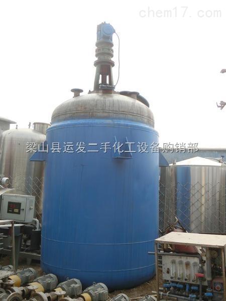 二手5吨不锈钢反应釜价格