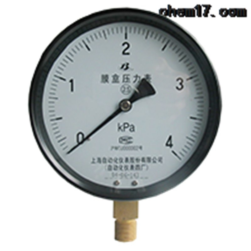 膜盒压力表YE-100价格