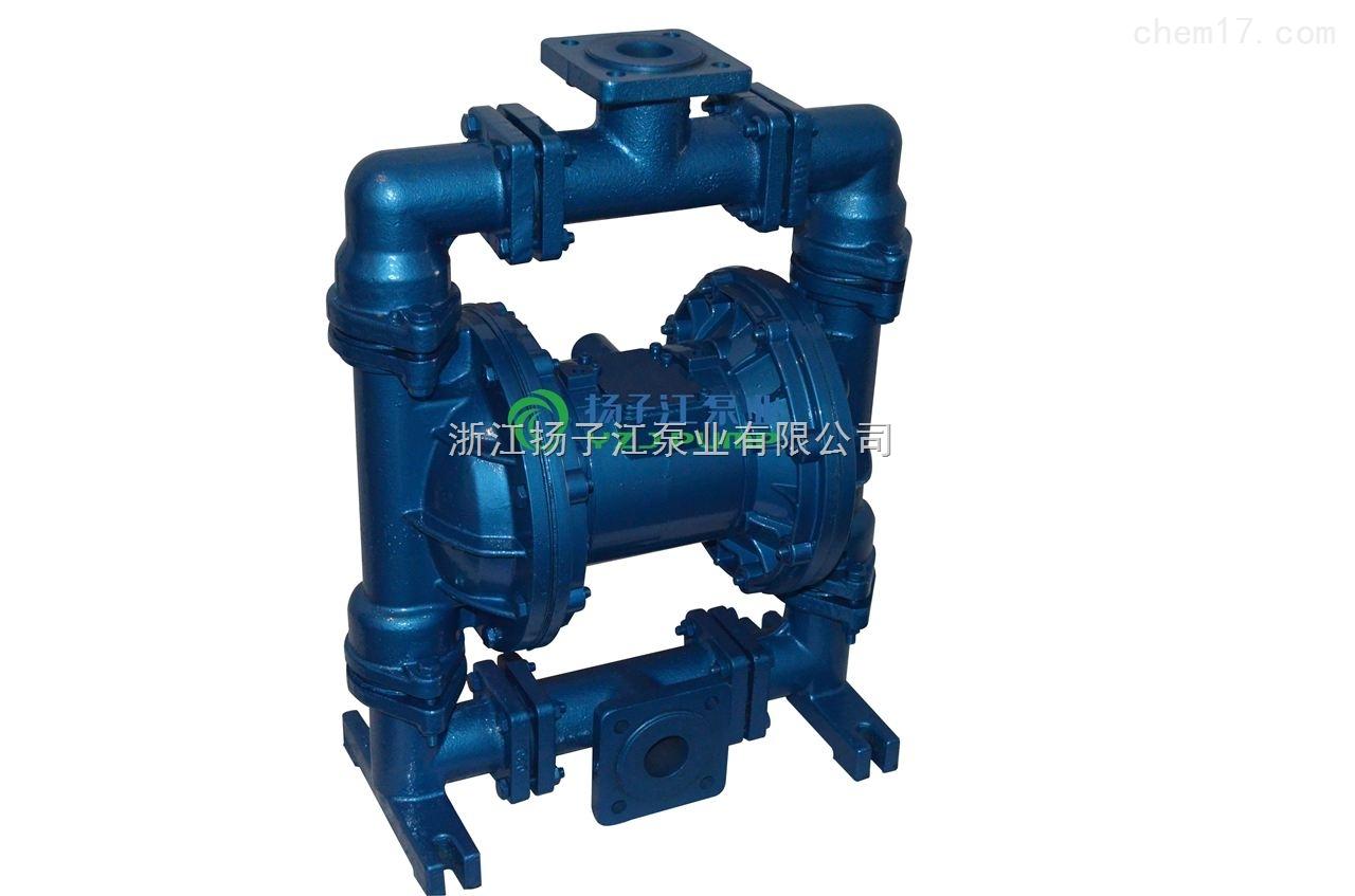 衬氟气动隔膜泵,化工气动隔膜泵,耐腐蚀气动隔膜泵