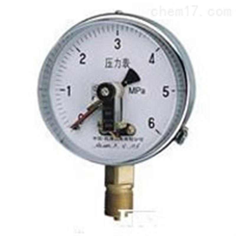 YXC-152B-FZ耐蚀抗振磁助电接点压力表