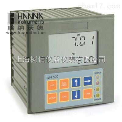 哈纳pH500111镶嵌式微电脑酸度测定控制器
