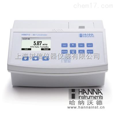 哈纳HI88713 微电脑多量程浊度(ISO标准)测定仪