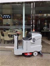 上海大麵積清洗用駕駛式電動洗地車
