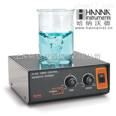 哈纳HI302N自动反转-双速控制微电脑磁力搅拌器
