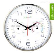 榛利14寸超大表盘 温湿度时钟 挂钟 进口精工机芯时钟 静音挂钟