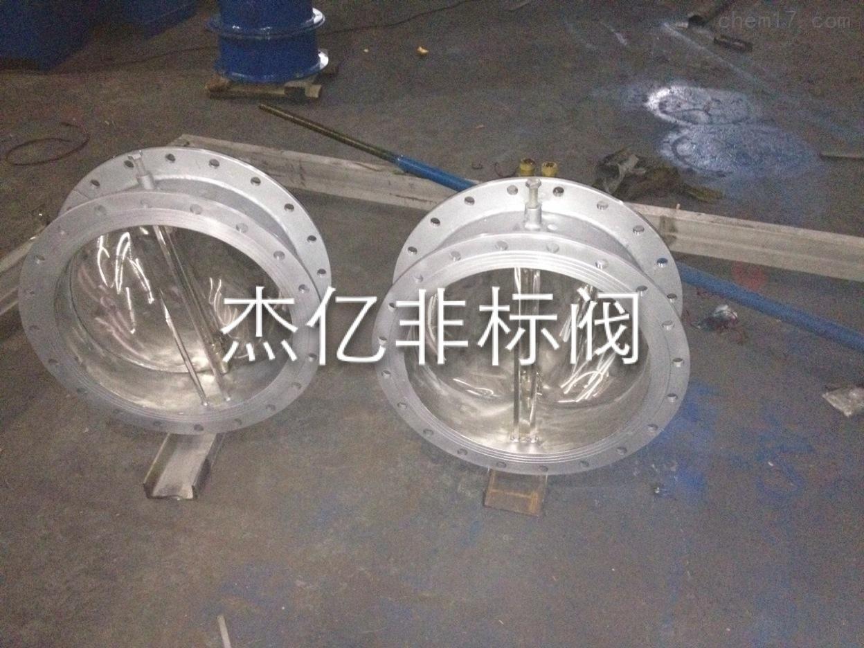 t303c-2 北京不锈钢风道止回阀图片