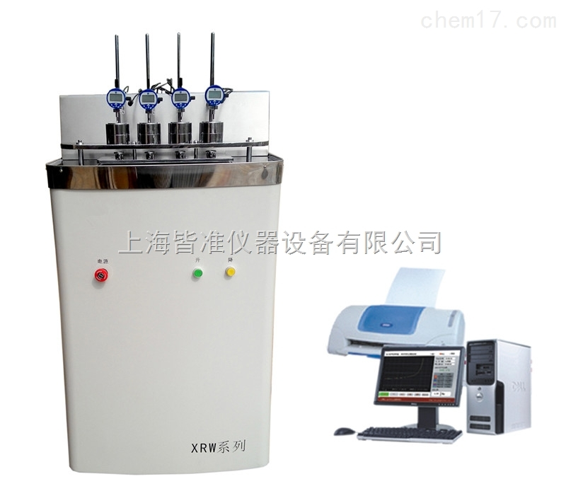 XRW-300B系列塑料热变形维卡软化点测定仪
