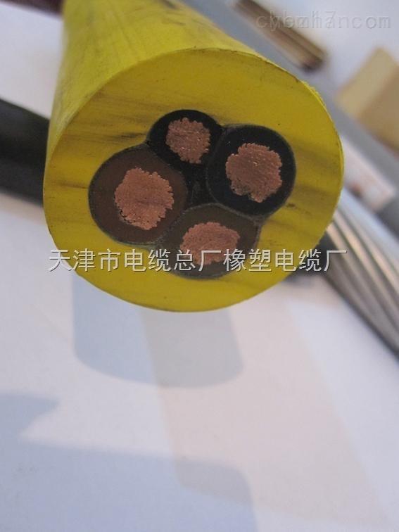 0.66/1.14KV-3*16+1*10-MYP矿用屏蔽电缆