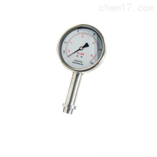 压板式卫生隔膜压力表