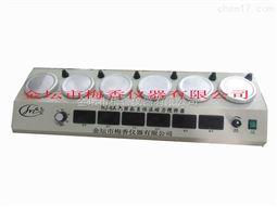 梅香仪器六联磁力加热搅拌器-多头强力搅拌机