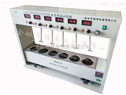 JJ-6A六联数显异步电动搅拌器水浴型金坛梅香数显水浴搅拌