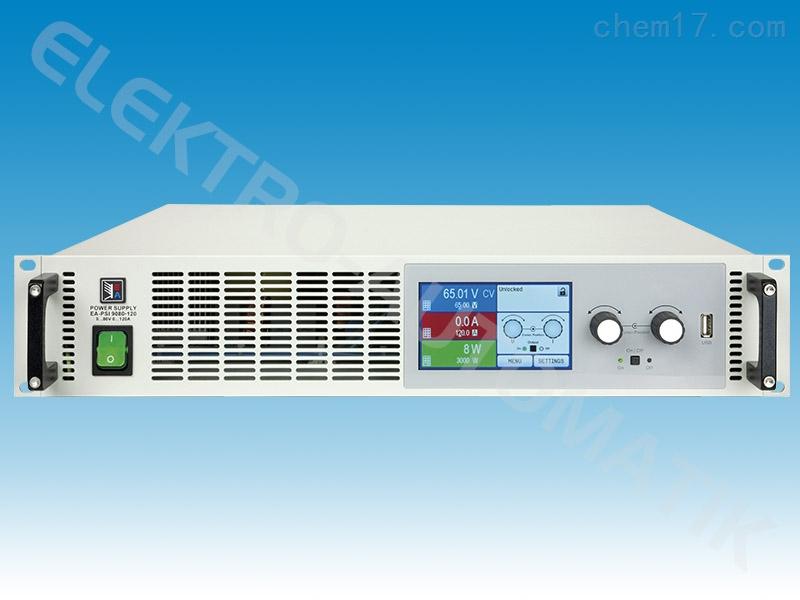 德国EA-PSI9080-40 2U 1000W可编程直流电源