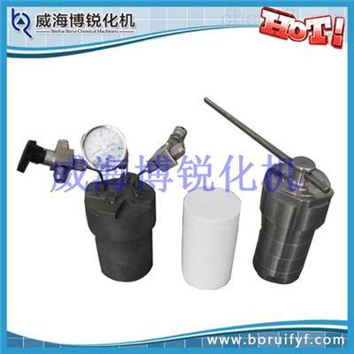 200ml不锈钢压力溶弹 水热合成反应釜