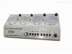 四联磁力加热搅拌器多头磁力加热搅拌器梅香仪器