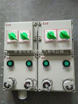 bxx52防爆插座箱BXX带插销防爆箱200V和380V并列