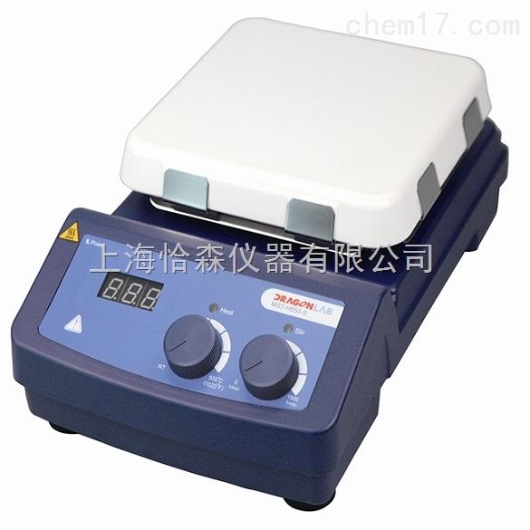 大龙MS7-H550-Pro型LCD数控加热7寸方盘磁力搅拌器
