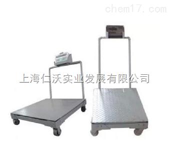 上海耀华可移动式小地磅/手推小地磅/1T/2T/电子地磅/小地磅