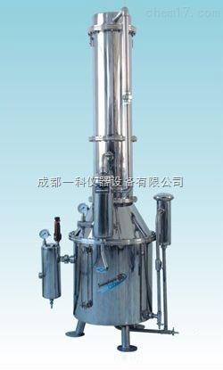 不锈钢塔式蒸汽重蒸馏水器--上海三申