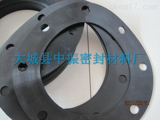 新疆耐酸碱氟橡胶法兰垫片异型规格定做厂家
