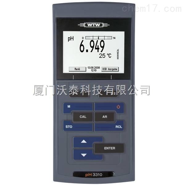 pH 3310便携pH测试仪