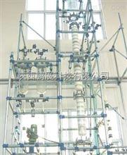 非标定制化工、制药特种玻璃精馏装置