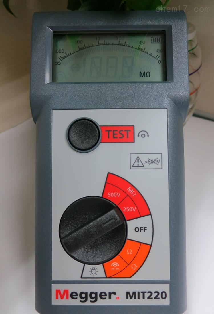 绝缘电阻测试仪mit230
