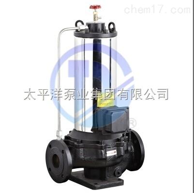 PBG100-160低噪音屏蔽管道泵