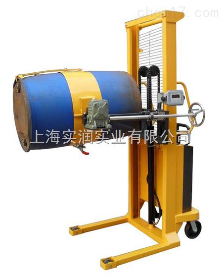 上海可倾式油桶车电子称,上海半电动油桶车电子称