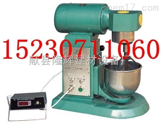 净重 45kg 三,nj-160型水泥净浆搅拌机主要结构及工作原理: 1,结构