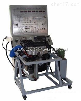桑塔纳3000AYJ电控发动机拆装运行实训台|汽车发动机实训装置