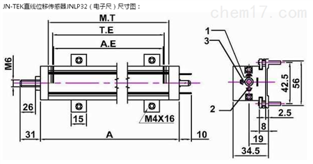 jnlp32 直线位移传感器