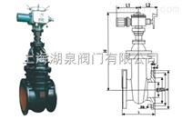 Z945H电动闸阀-电动暗杆闸阀-电动暗杆铸铁闸阀-电动铸钢闸阀