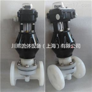 气动隔膜阀/塑料隔膜阀 PPH/UPVC/PVDF/PPR
