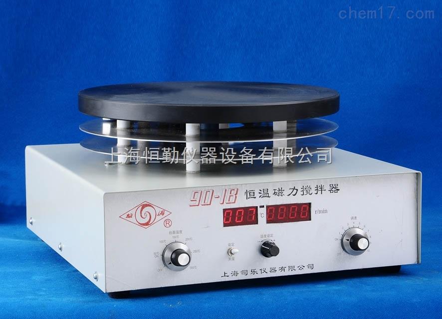 90-1B大功率数显恒温磁力搅拌器