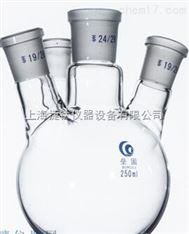四口烧瓶(厚壁) 标准磨口玻璃烧瓶 四口反应瓶