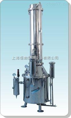 不锈钢塔式蒸汽重蒸馏水器TZ200