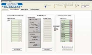 瑞士Wyler LabEXCEL WyBus测量采集软件