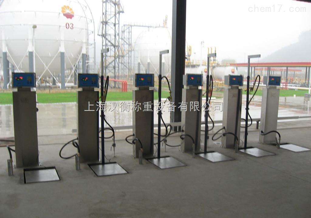 60公斤液化气灌装秤带定量灌装/100公斤全自动气体灌装秤厂家定做