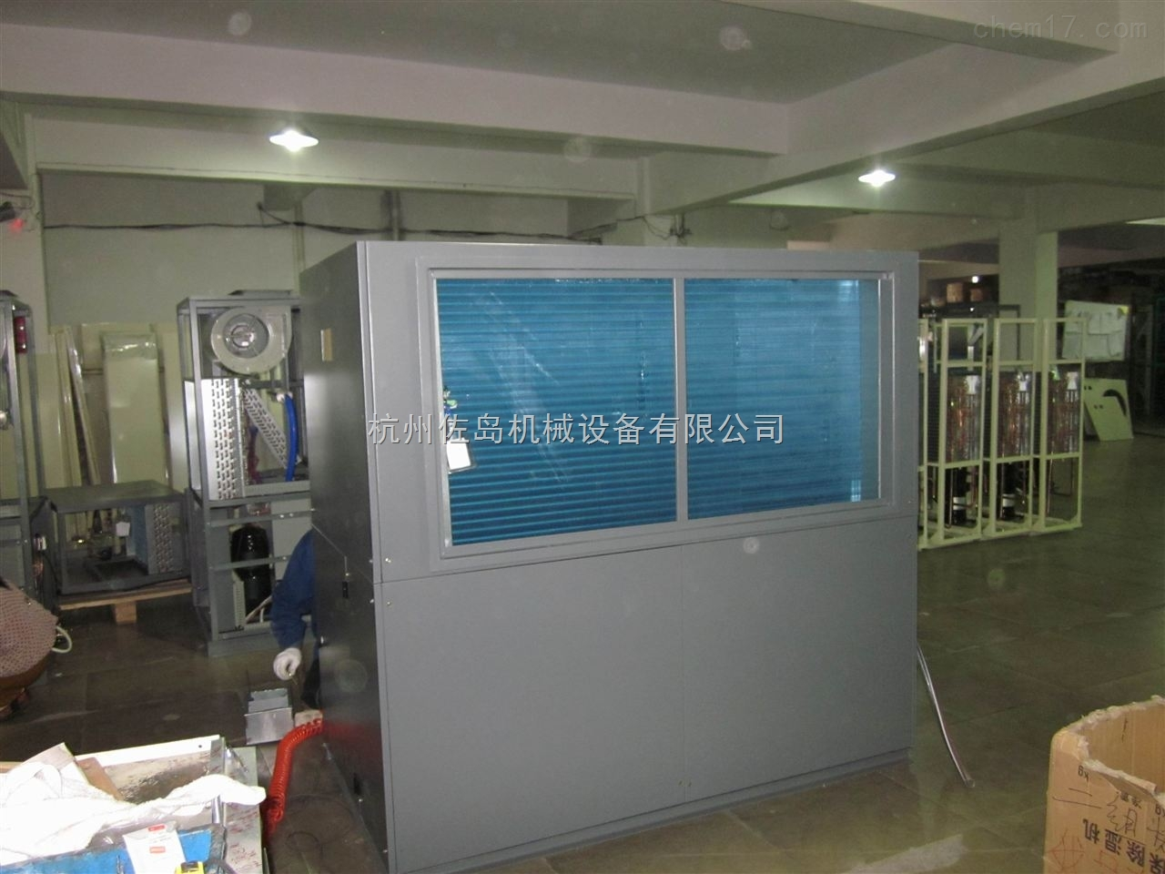 人防工程調溫型管道除濕機