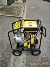 伊藤电启动4寸柴油机水泵