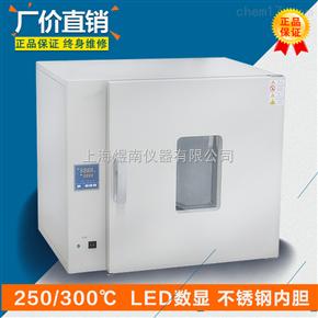 台式DHG-9240B300℃高温工业烘箱 恒温数显干燥箱