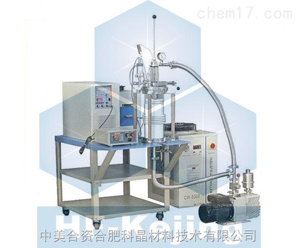 1700℃温控型真空感应加热炉(带进料前级装置和熔炼搅拌装置)SP-60KTC