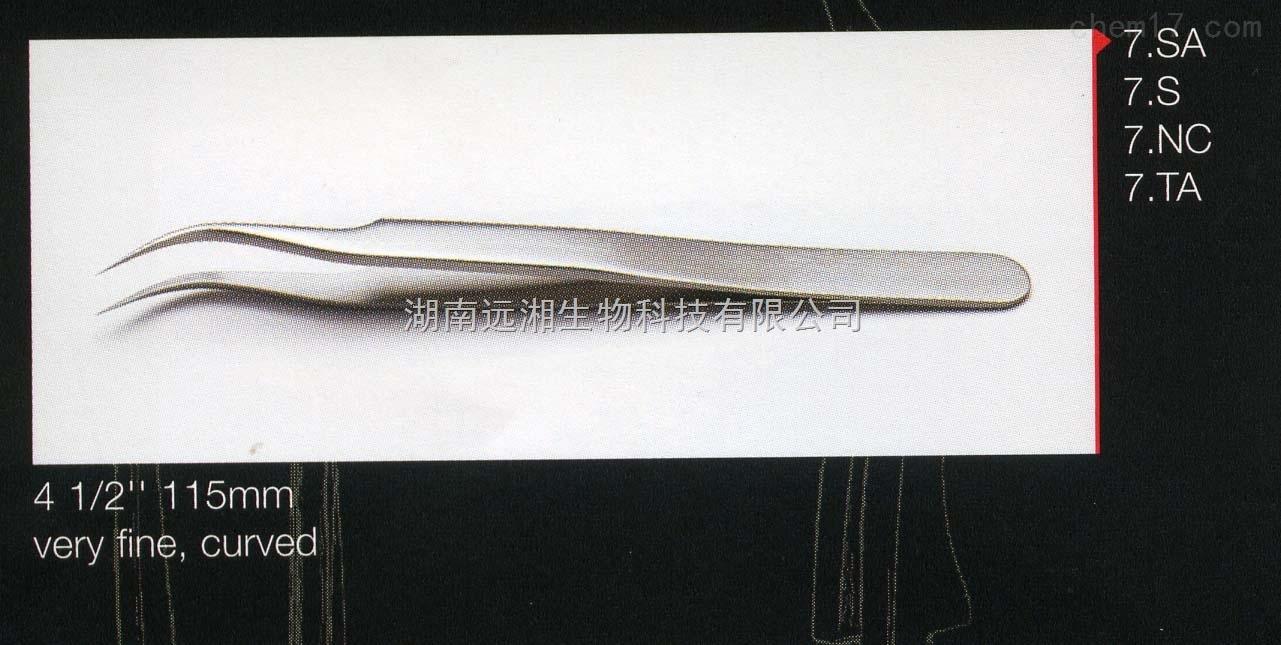 ideal-tek代理 ideal-tek镊子7.SA 弯头解剖镊子 精细弯头镊子